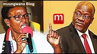 vuclip Magufuli afungwe Breki- Halima Mdee