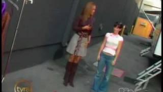 Jennifer Love Hewitt Tyra Banks Show Tyra diva lessons 9 23 2005