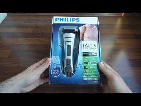 Разопаковане на тример за тяло Philips Series 7000 (TT2040)