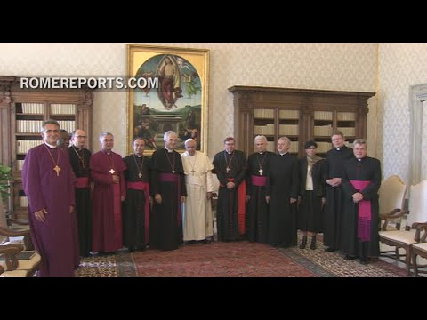 Pope to Old Catholic Bishops of Utrecht: It's about forgiveness and reconciliation