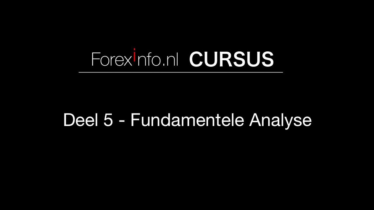 Fundamentele analyse forex