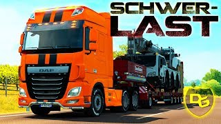 Euro Truck Simulator 2 Schwerlast #3 - Kranwagen - Daniel Gaming - Euro Truck Simulator 2 DLC