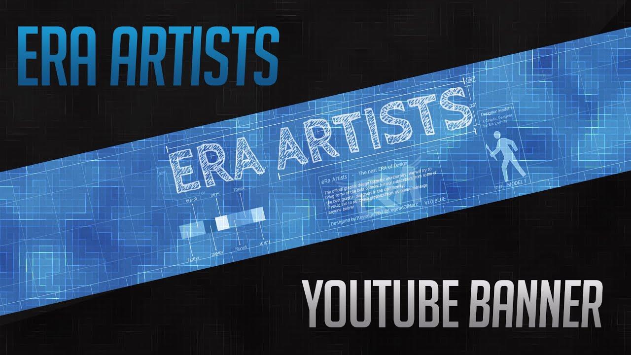 Revenge 2D Speed Art: @eRaArtists Banner - YouTube