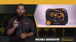 FIRMAN W03083 Inverter Generator