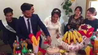 Марик и его семья - свадебный момент