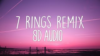 Ariana Grande - 7 rings remix (8D Audio) ft. 2 Chainz