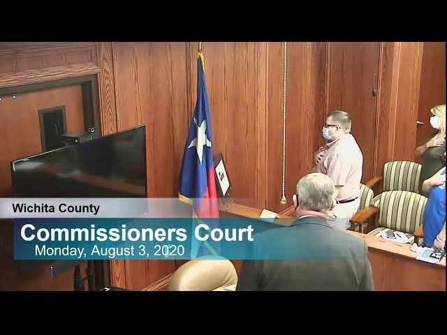 Commissioners Court Live Stream
