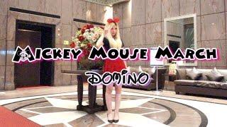 【パラパラを踊ってみた】Mickey Mouse March (Eurobeat Version) / Domino