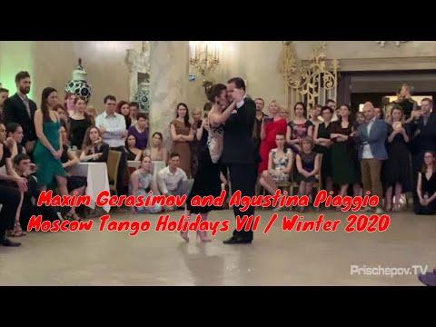 Maxim Gerasimov And Agustina Piaggio, 1-3, Moscow Tango Holidays VII / Winter 2020
