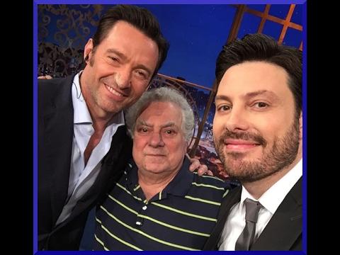 Isaac Bardavid conheceu Hugh Jackman - [20/02/2017]