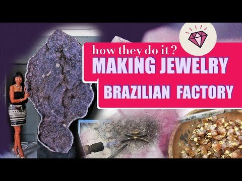 MAKING JEWELRY IN BRAZILIAN FACTORY | Jewelry Auctioned