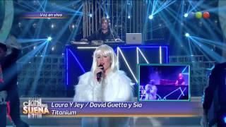 Laura y Jey son David Guetta y Sia - Tu Cara Me Suena 2014