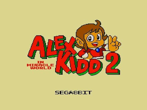 MS Alex Kidd In Miracle World 2