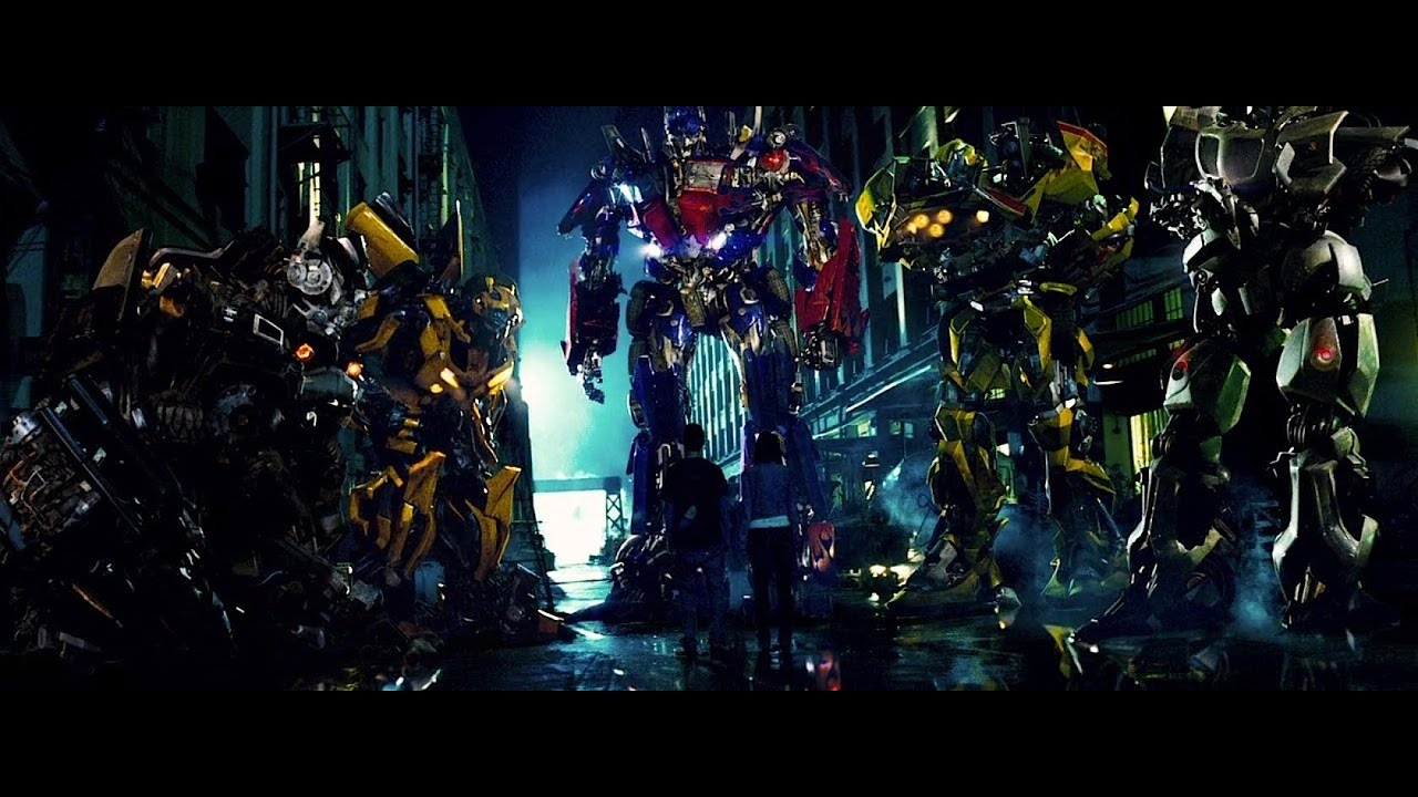 transformers (2007) - autobots arrival to earth scene full hd