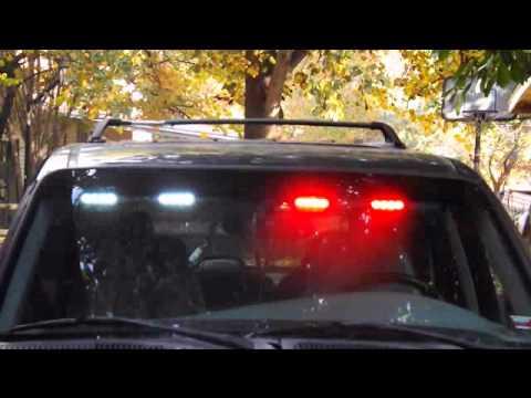Undercover visor led lightbar youtube undercover visor led lightbar mozeypictures Image collections