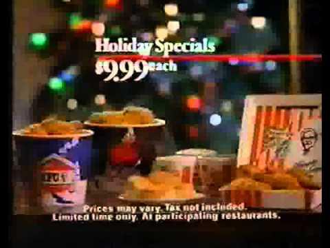 Kentucky Fried Chicken Holiday Specials