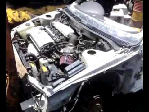 AE101 Silvertop 4 throttle Project TOYOstar engine test