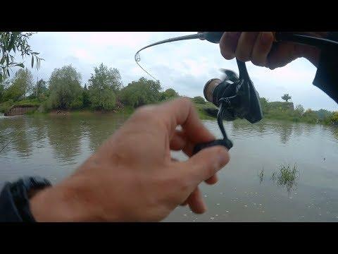 Рыбалка в Краснодаре. Спиннинг на реке Кубань в мае.