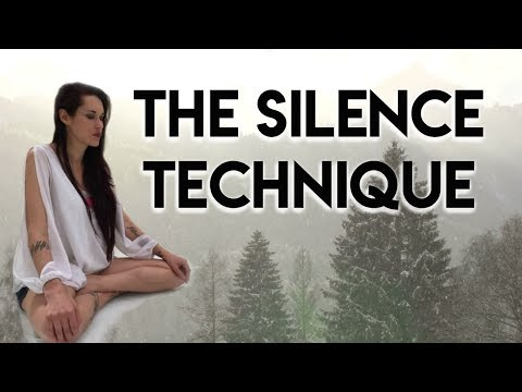 The Silence Technique (Putting People On Mute) - Teal Swan