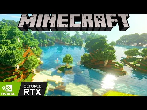 How Rich Kids Play Minecraft: Ray-Tracing on Max Settings! thumbnail