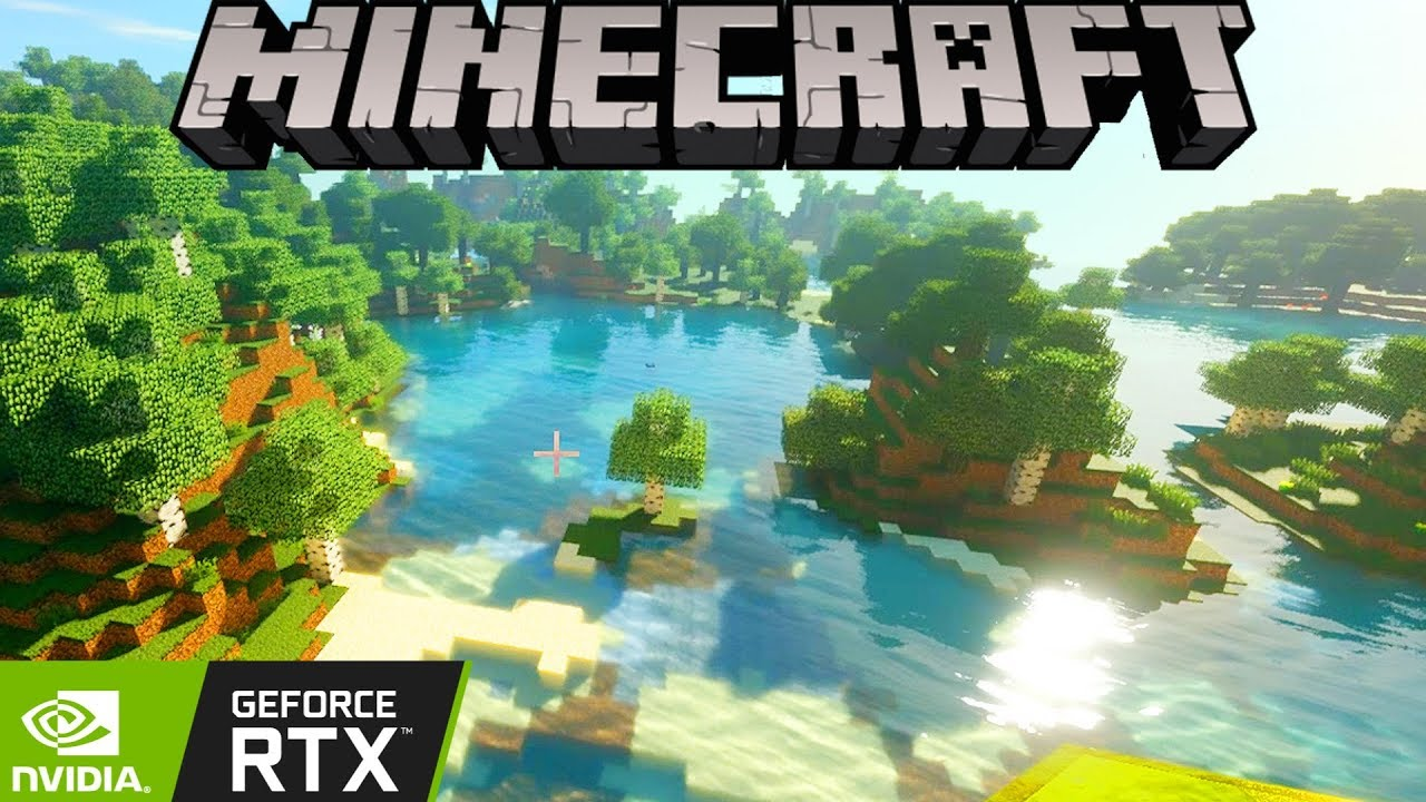 How Rich Kids Play Minecraft: Ray-Tracing on Max Settings!