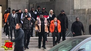 Tekashi69 Arriving At Court + His Lawyers React After Being Sentenced to 4 Years Probation