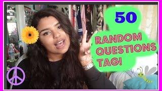 50 Random Questions | Tag Video Thumbnail