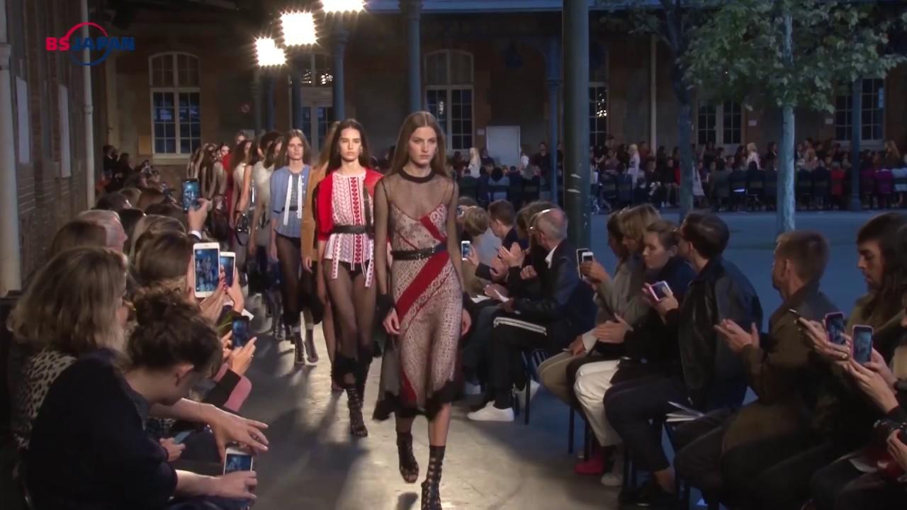 【ファッション通信次週予告】「2018春夏パリ・コレクション・レポート」