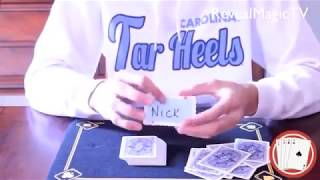 Your Name, Your Card - CARD TRICK - Magic Tricks REVEALED