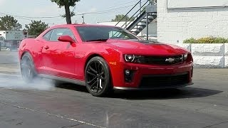 No-lift shifting in a 2014 Chevrolet Camaro ZL1 | AROUND THE BLOCK