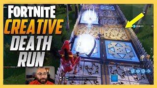 Impressive Fortnite Creative Death Run by JeffVH!