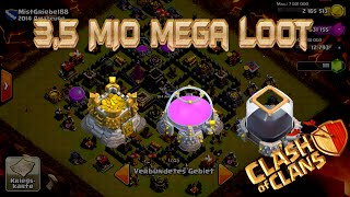 "Lets Play Clash of Clans #137""MEGA UPDATE LOOT-3,5 MIO LOOT""[HD] GER/DEUTSCH HD"