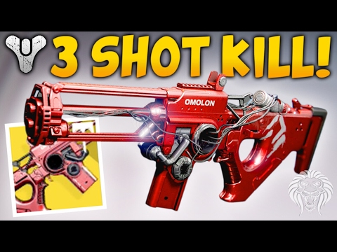 Destiny: THE 3 SHOT KILLER! Amazing New Exotic Chaos Dogma (Age of Triumph)