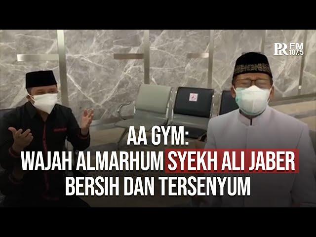 Aa Gym: Wajah Almarhum Syekh Ali Jaber Bersih dan Tersenyum