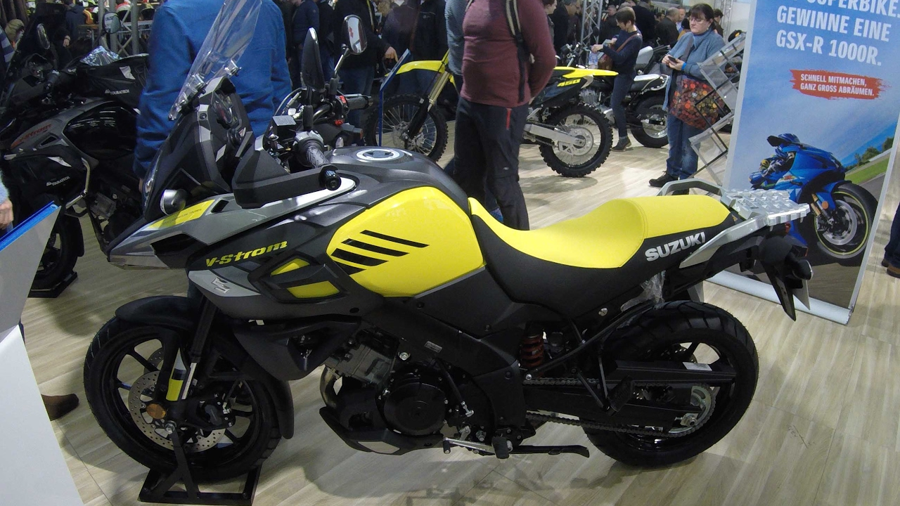 suzuki v-strom 1000 !! adventure bike !! yellow colour