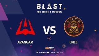 [RU] AVANGAR vs ENCE | Dust2 | BLAST Pro Series: Moscow 2019