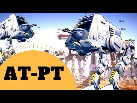 All Terrain Personal Transport - AT-PT Walker Vehicle Lore - Star Wars Canon & Legends Explained