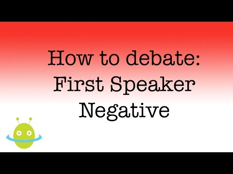 first speaker debate template - best debate in the world university of oxford must
