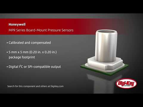 Honeywell MPR Series Board-Mount Pressure Sensors | Digi-Key Daily