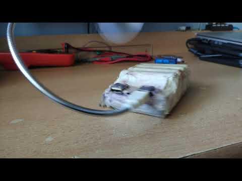 My Diy Powerbank Fan (rotating)