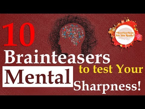 #BoostYourBrain - 10 Brainteasers To Test Your Mental Sharpness | 99% Fall