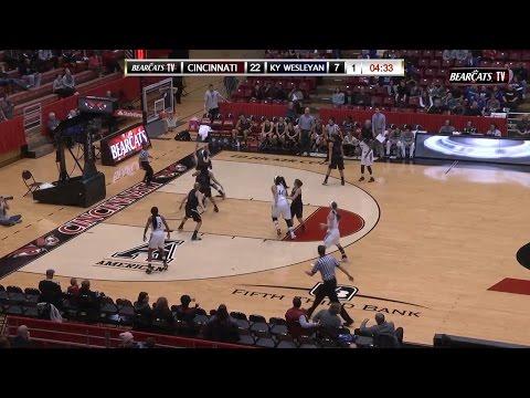 Cincinnati Women's Basketball vs Kentucky Wesleyan...