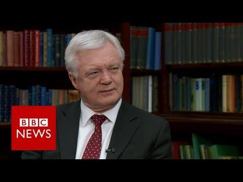 Davis on Brexit negotiations and EU commitments  - BBC News