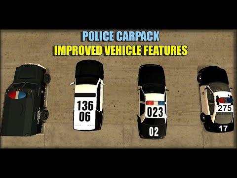 POLICE Carpack + IVF | GTA - San Andreas