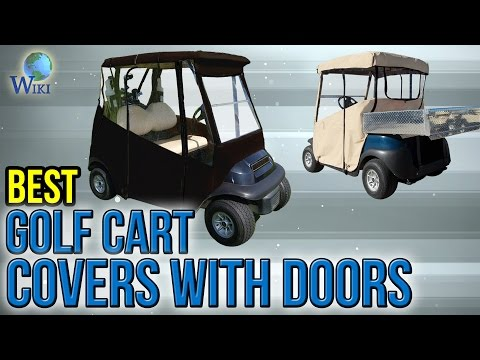 6 Best Golf Cart Covers With Doors 2017
