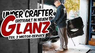 HOLYHALL | UNSER CRAFTER ERSTRAHLT IN NEUEM GLANZ | TEIL 2 MOTOR-SERVICE