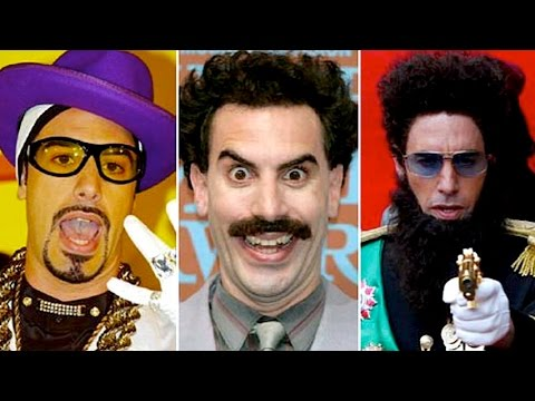 Top 10 Sacha Baron Cohen Moments