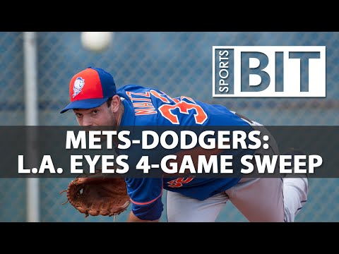 New York Mets at Los Angeles Dodgers | Sports BIT | MLB Picks