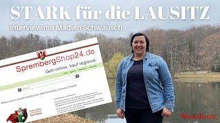 """""""STARK für die LAUSITZ"""" - Interview mit Madlen Schwausch zu SprembergShop24"""