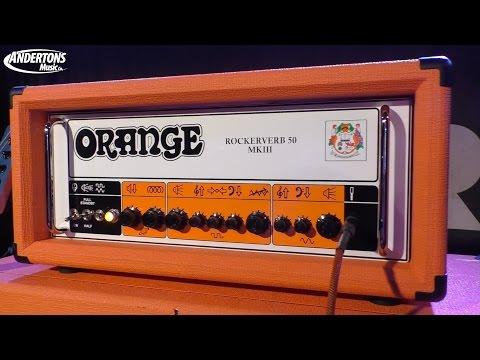 Unveiling The New Orange Rockerverb III - Plus interview with designer Ade Emsley